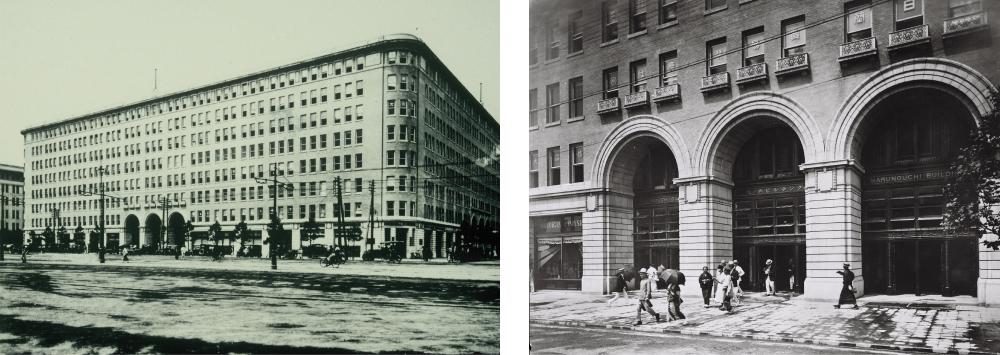 旧丸ビル当時の写真